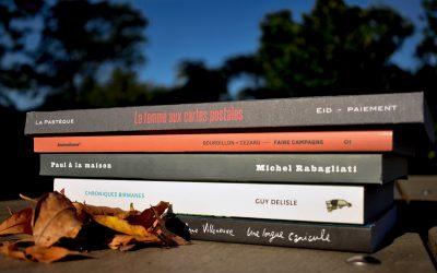 Des romans graphiques d'ici…qui sortent de l'ordinaire!